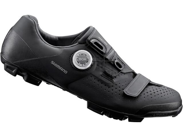 Shimano SH-XC5 Bike Shoes, black